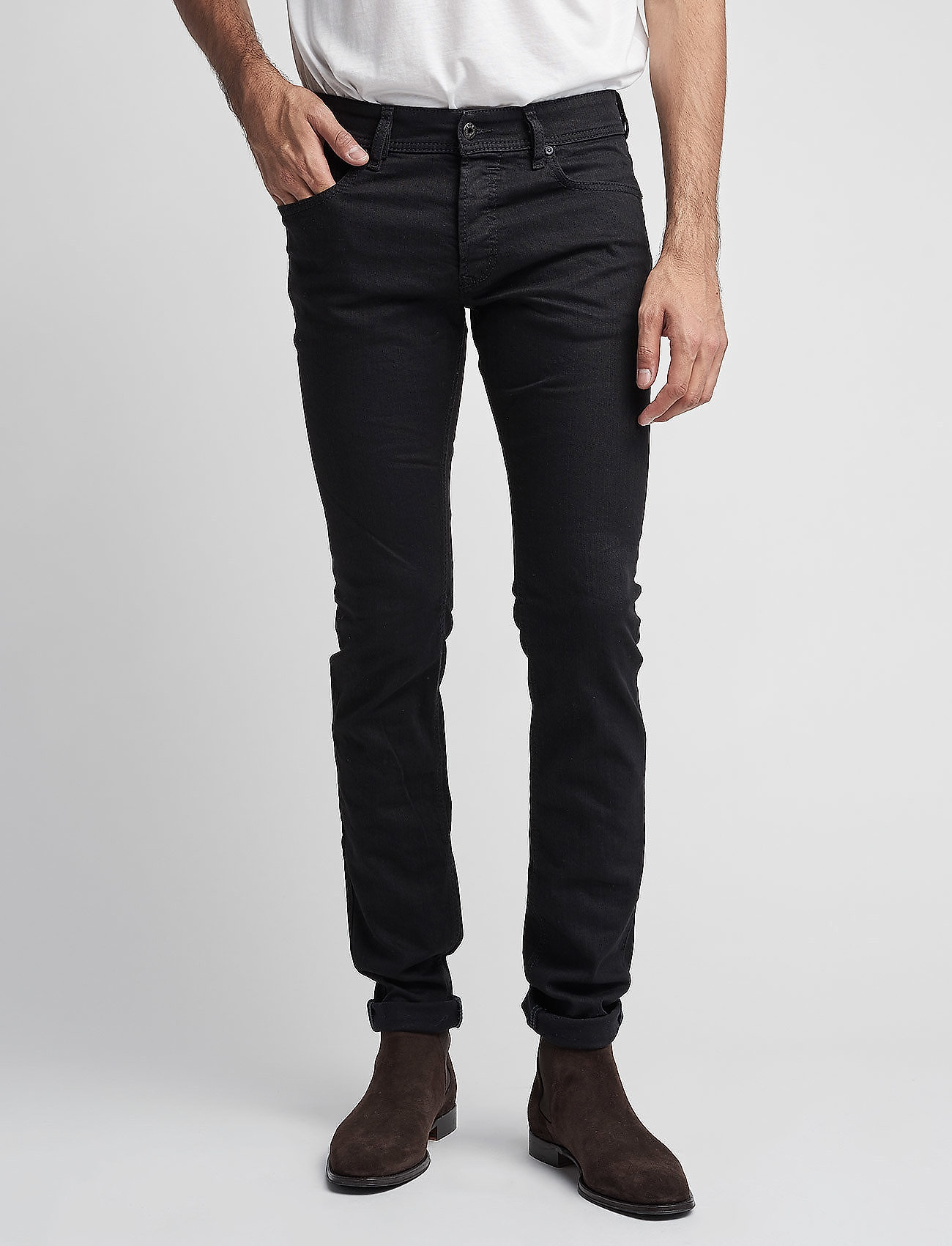 Diesel Men - SLEENKER - slim jeans - grey - 0