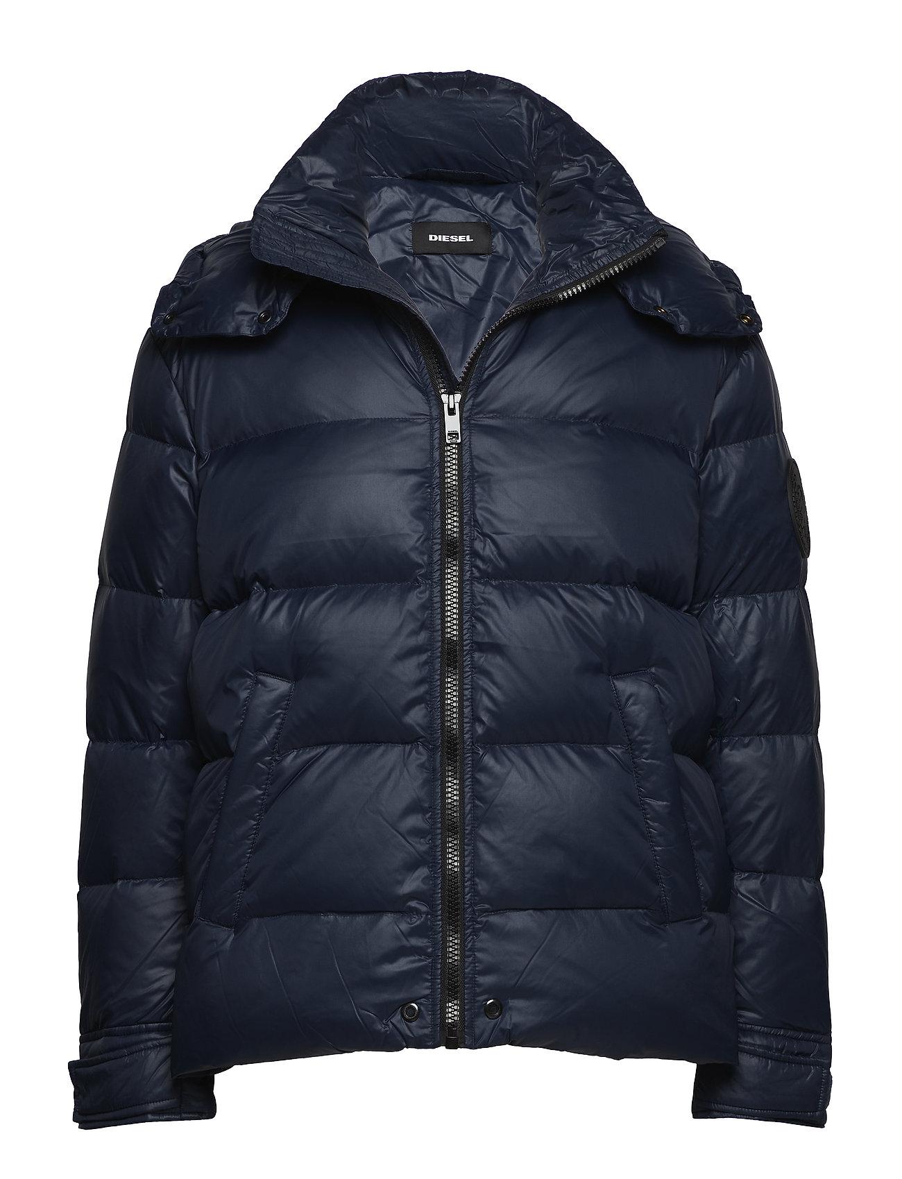 Image of W-Smith-A Jacket Foret Jakke Blå DIESEL MEN (3067491689)