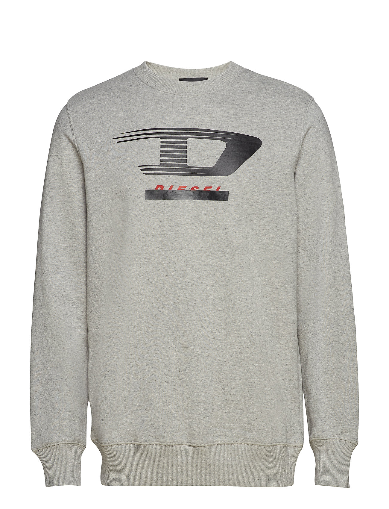 Diesel Men S-GIR-Y4 SWEAT-SHIRT - LIGHT GREY MELANGE