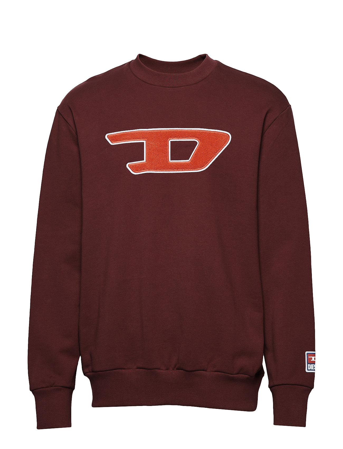 DIESEL S-Crew-Division-D Sweat-S Sweat-shirt Pullover Rot DIESEL MEN