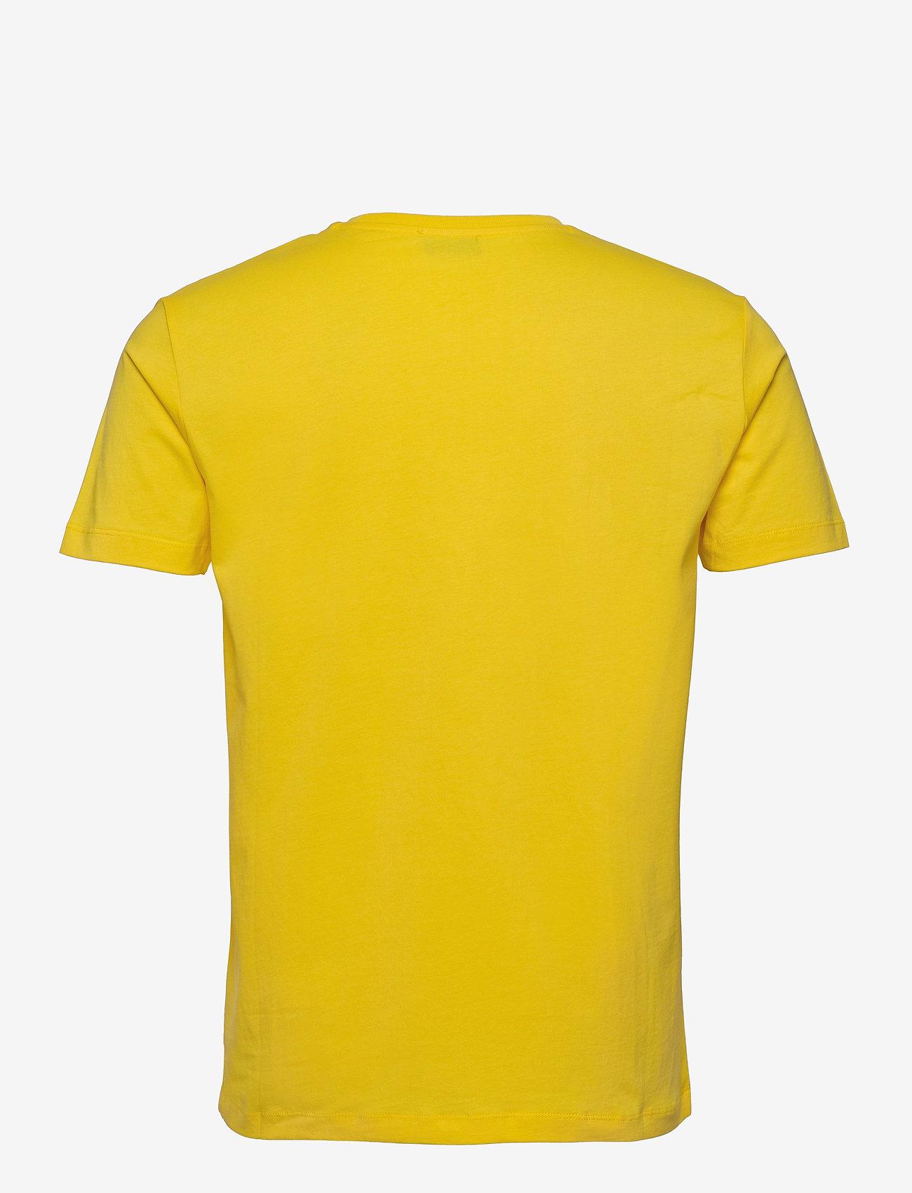 Diesel Men - UMLT-JAKE T-SHIRT - short-sleeved t-shirts - dandelion - 1