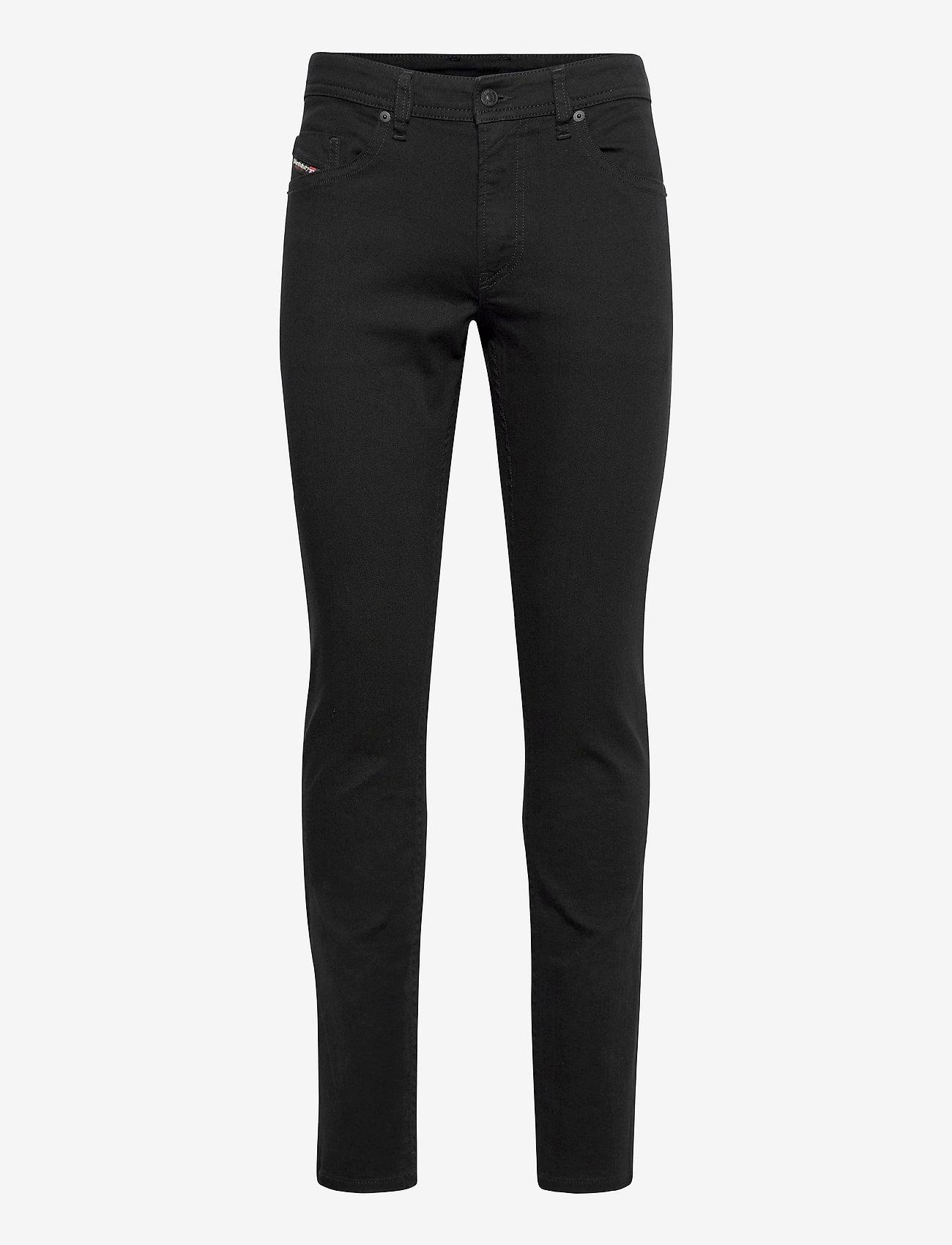 Diesel Men - THOMMER-X TROUSERS - slim jeans - black/denim - 0