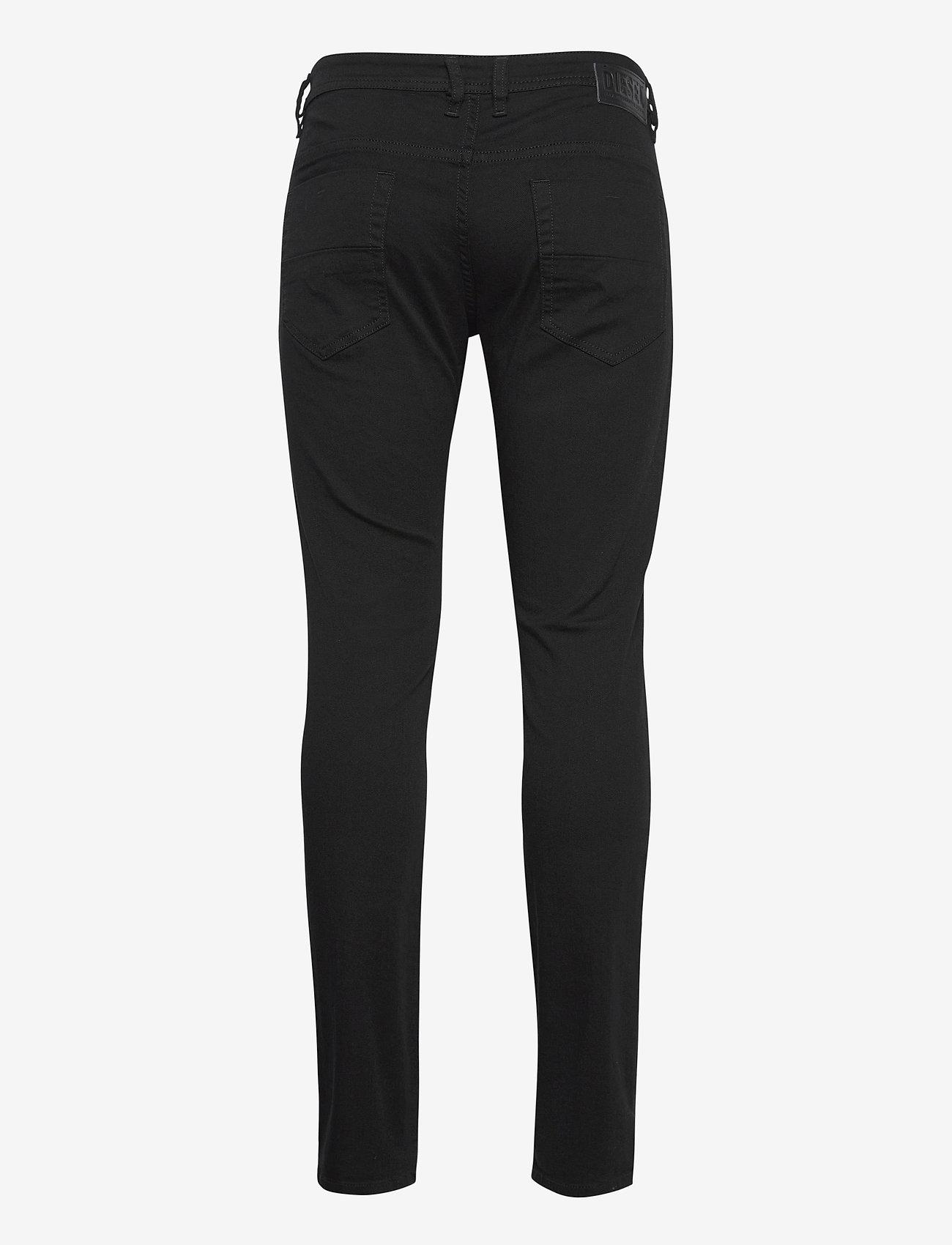 Diesel Men - THOMMER-X TROUSERS - slim jeans - black/denim - 1
