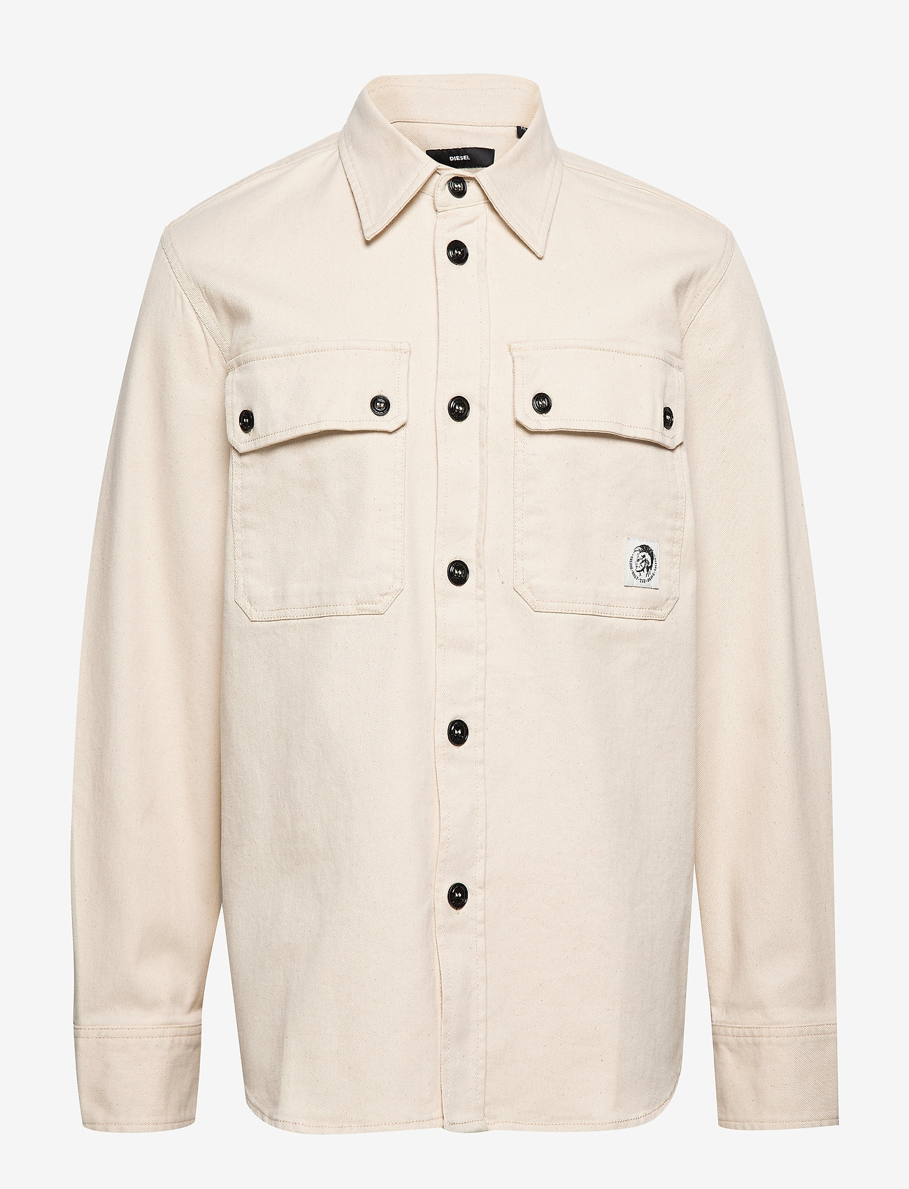 Diesel Men - S-JESSY SHIRT - podstawowe koszulki - vapourous gray - 0