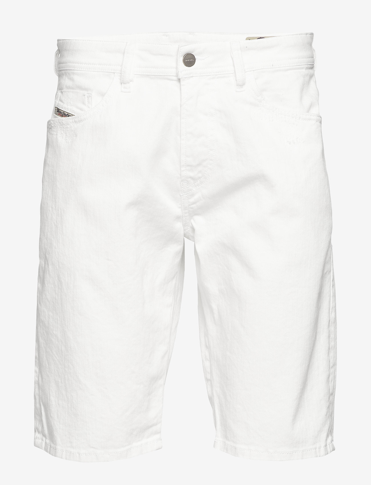 Diesel Men - THOSHORT SHORTS - farkkushortsit - bright white - 0