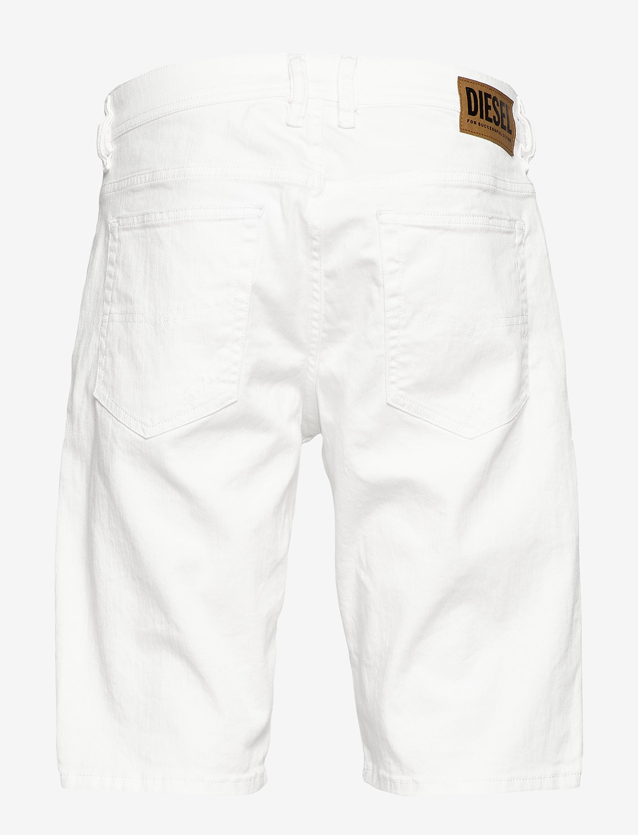Diesel Men - THOSHORT SHORTS - farkkushortsit - bright white - 1