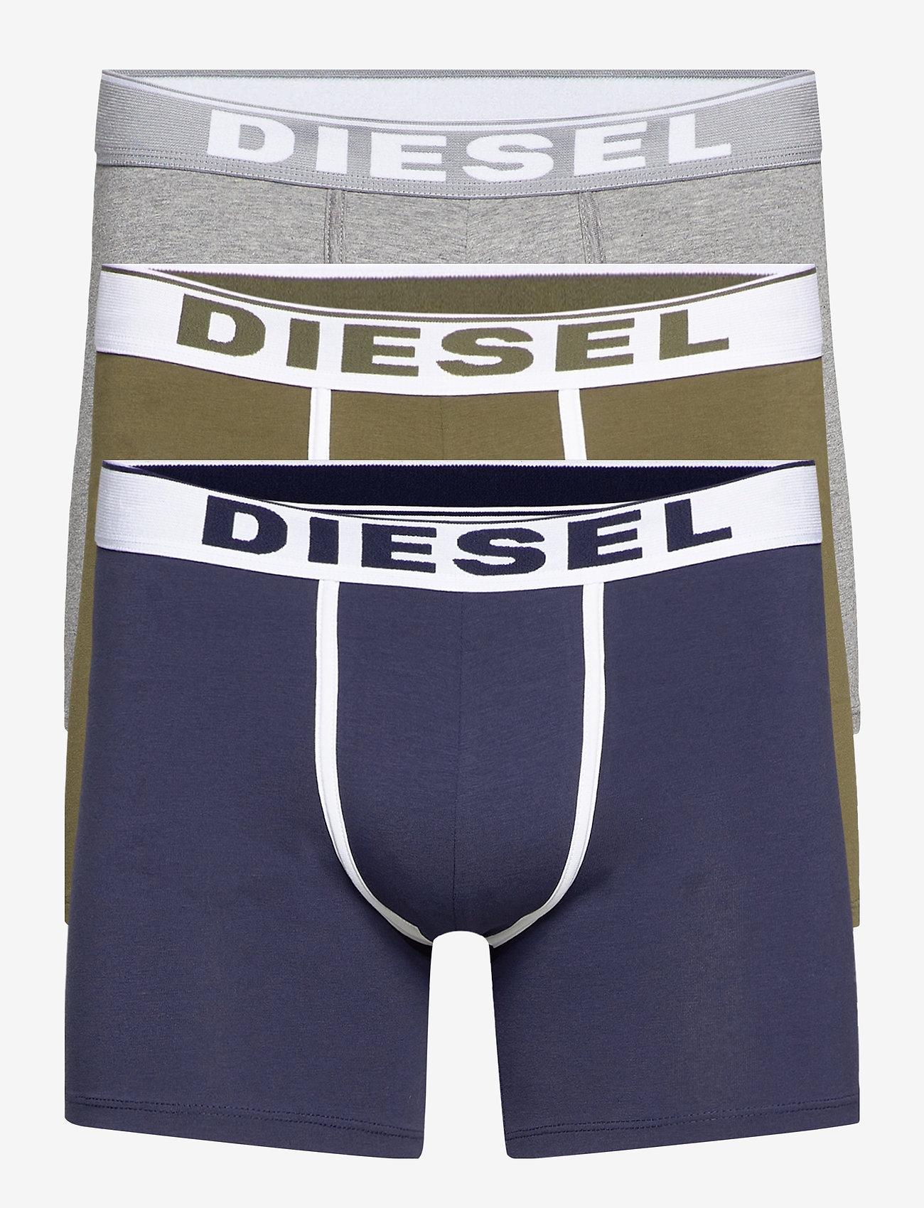 Diesel Men - UMBX-SEBASTIANTHREEPAC BOXER-SHORTS - boxers - ah51f+ah8at+ah96x - 0