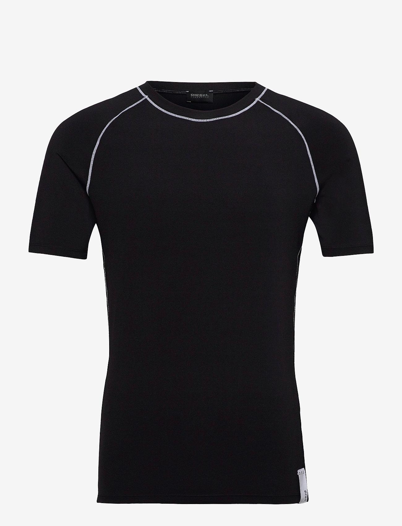 Diesel Men - UMTEE-YOSHI T-SHIRT - basic t-shirts - black - 0
