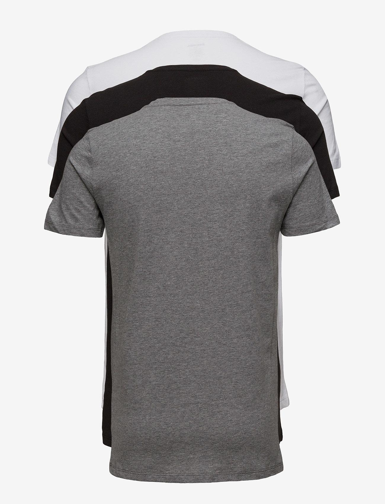 Diesel Men - UMTEE-JAKETHREEPACK  T-SHIRT - multipack - black/white - 1