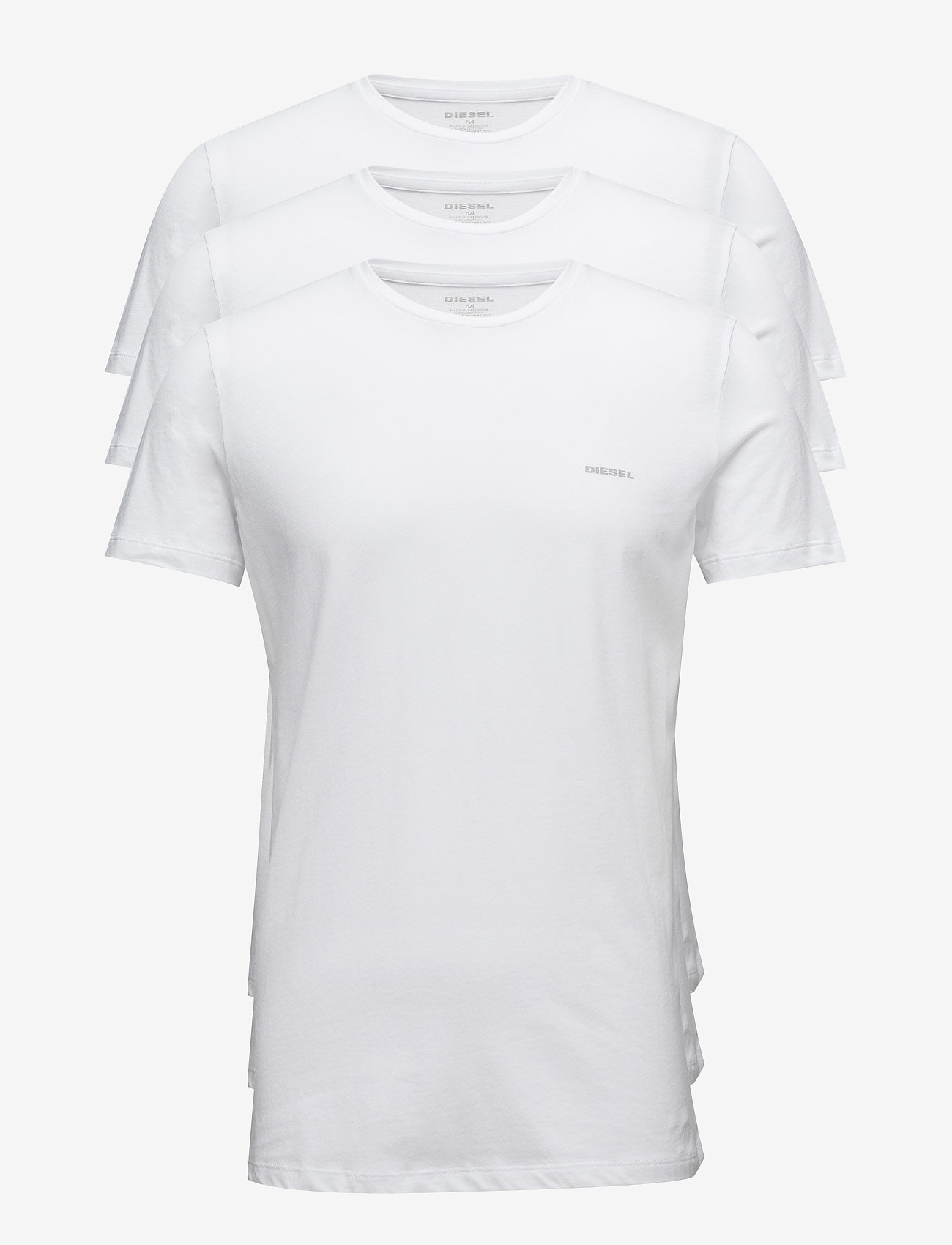 Diesel Men - UMTEE-JAKETHREEPACK  T-SHIRT - multipack - bright white - 0