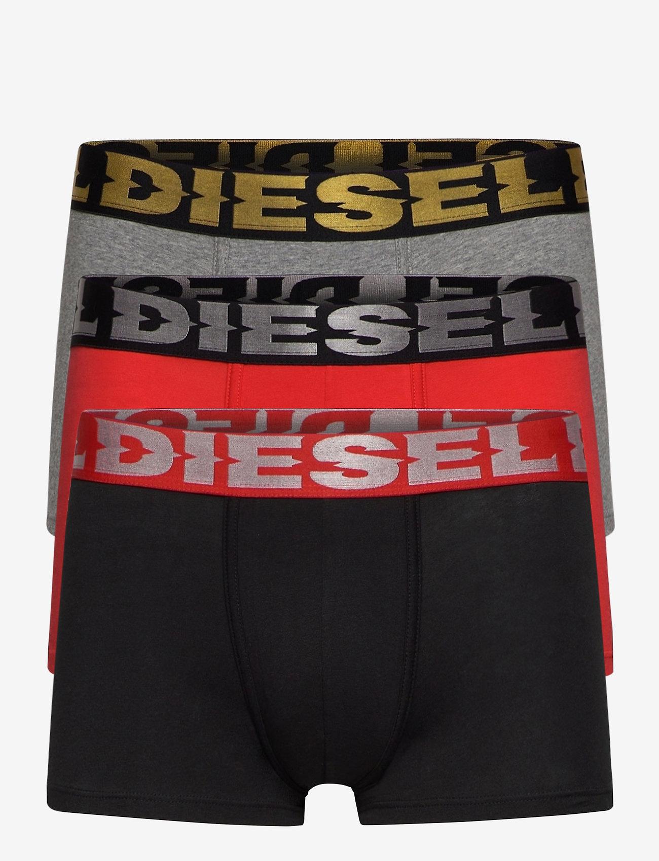 Diesel Men - UMBX-DAMIENTHREEPACK BOXER-SHORTS - boxers - intimate: ah900+ah96x+ah42a - 0
