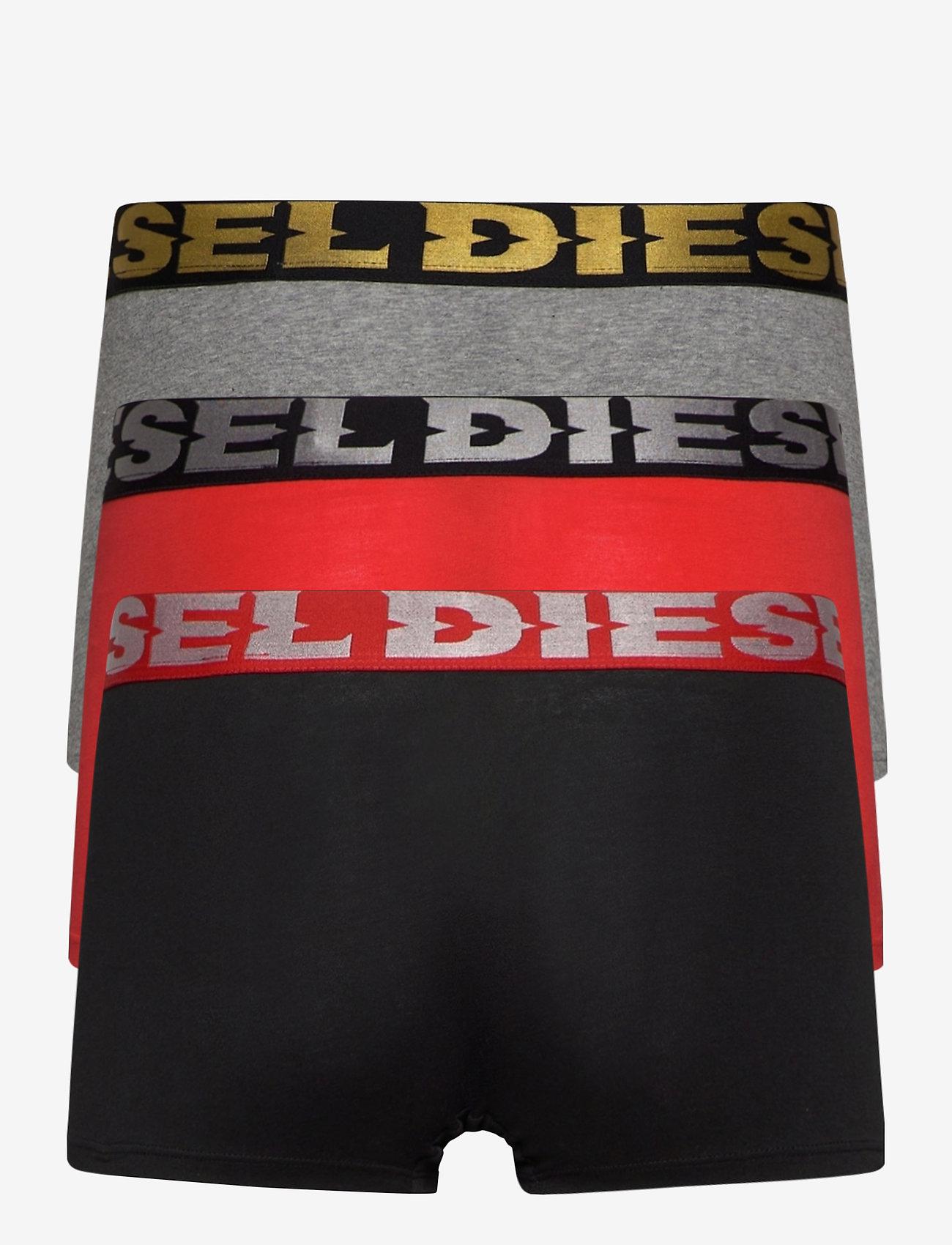 Diesel Men - UMBX-DAMIENTHREEPACK BOXER-SHORTS - boxers - intimate: ah900+ah96x+ah42a - 1