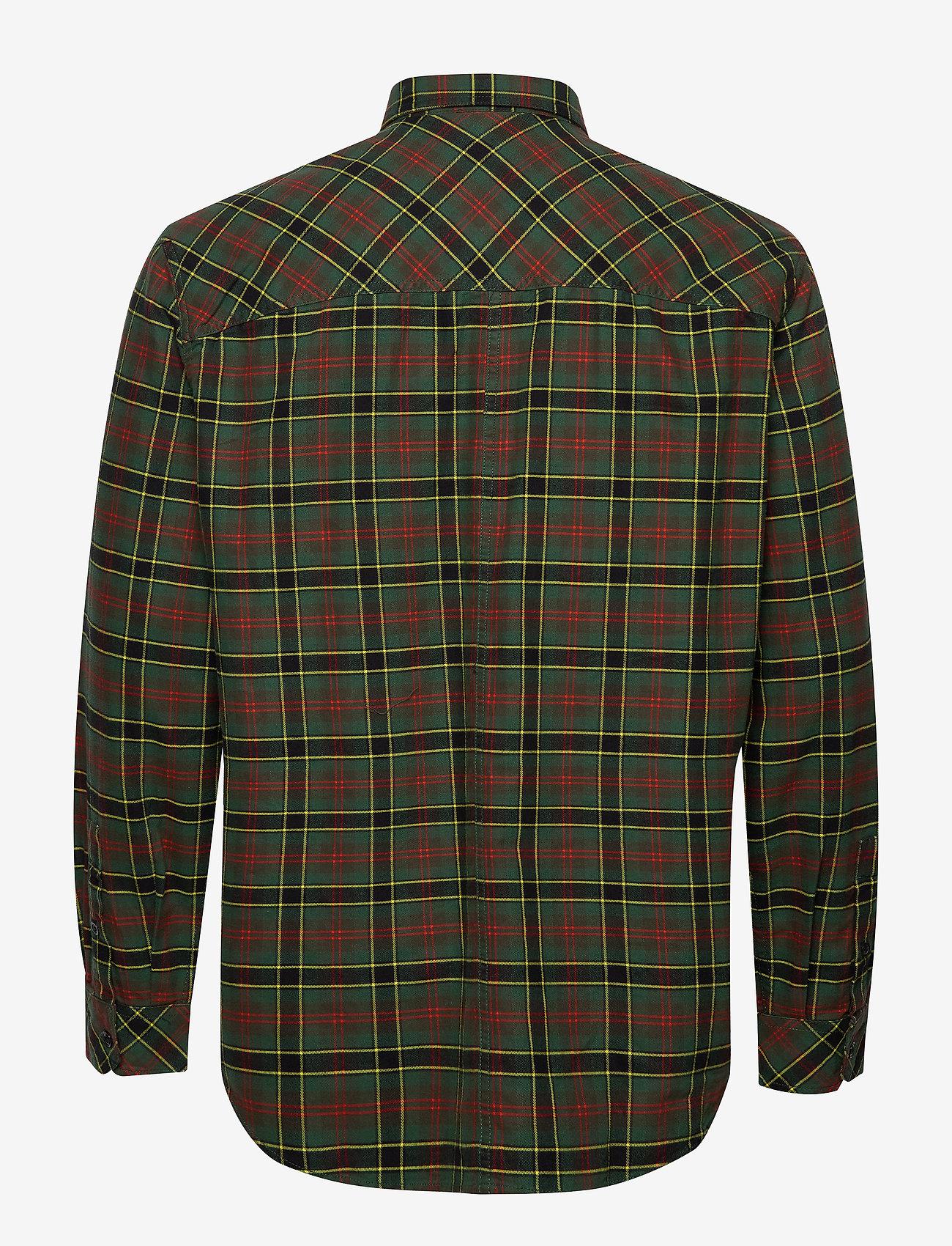 Diesel Men - S-TOLSTOJ SHIRT - checkered shirts - dark green - 1