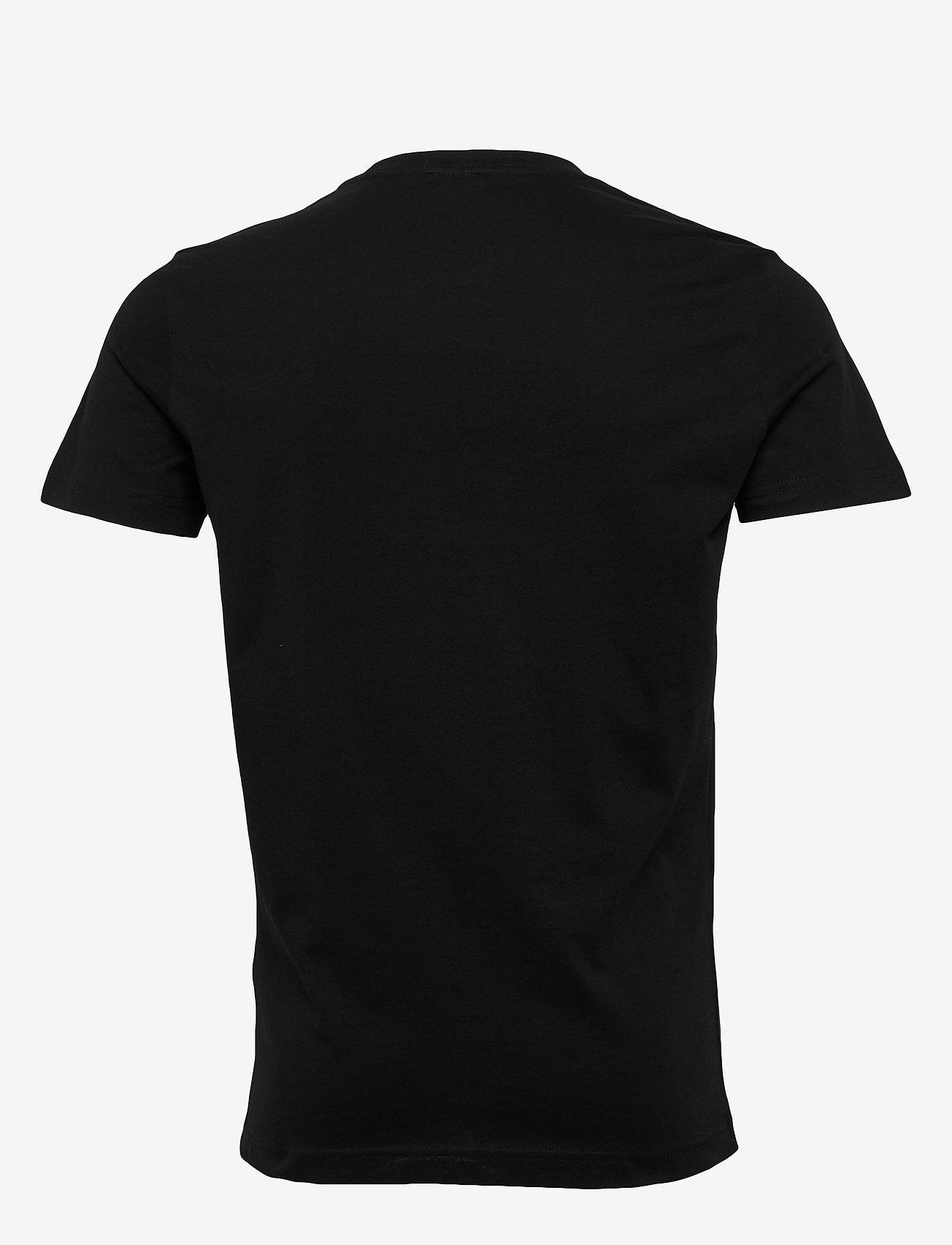 Diesel Men - T-DIEGO-LOGO T-SHIRT - short-sleeved t-shirts - black - 1