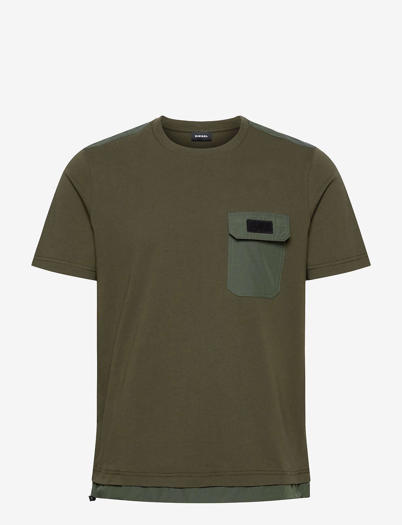 Diesel Men - T-ARMI T-SHIRT - basic t-shirts - green - 0