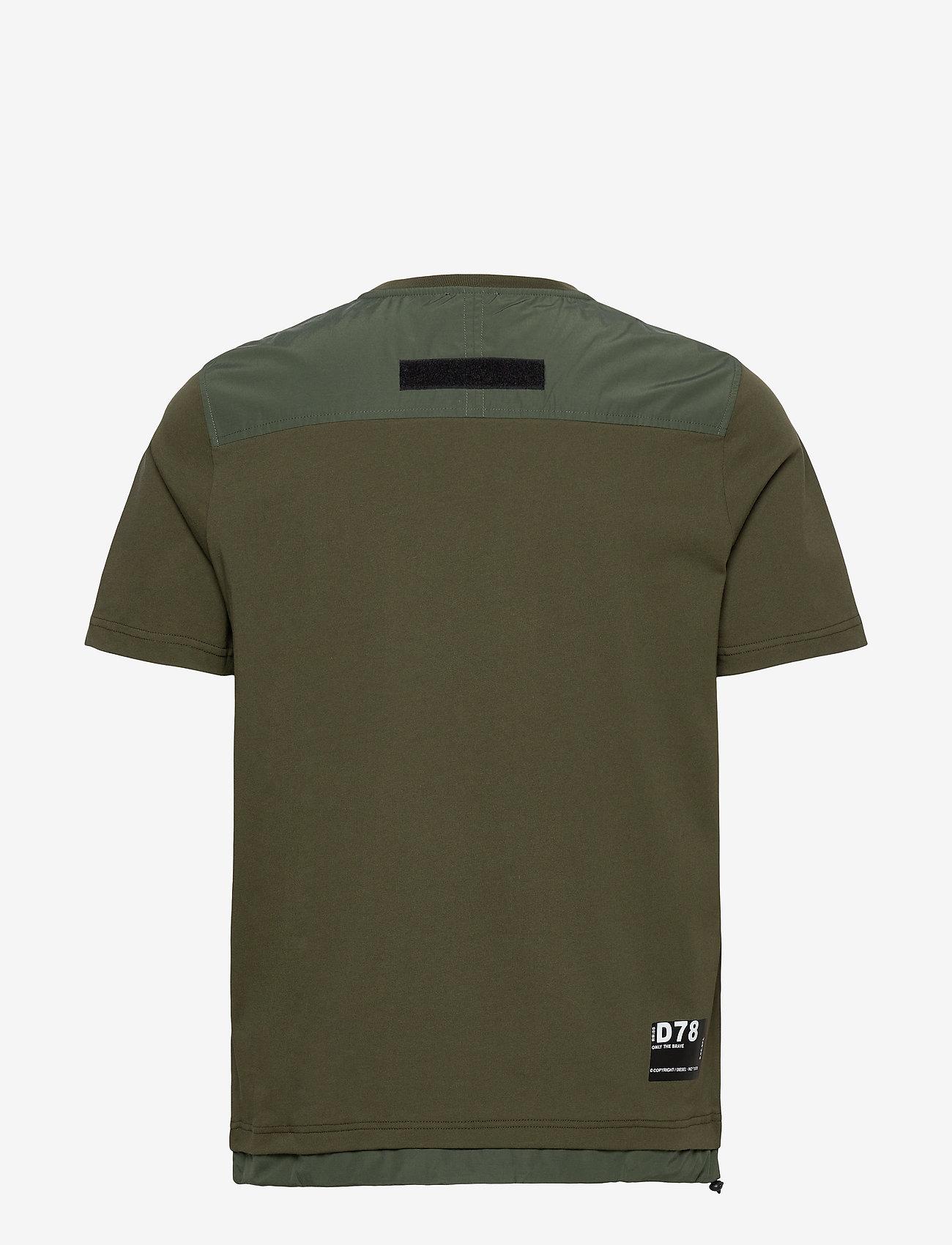 Diesel Men - T-ARMI T-SHIRT - basic t-shirts - green - 1