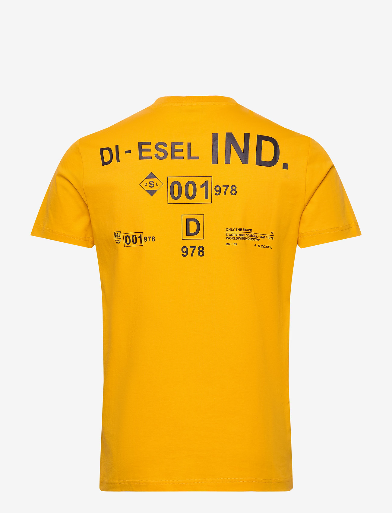 Diesel Men - T-DIEGOS-N21 T-SHIRT - basic t-shirts - yellow - 1