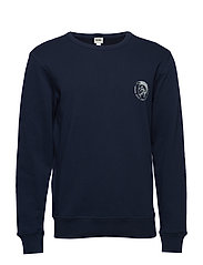 UMLT-WILLY SWEAT-SHIRT - DARK/BLUE