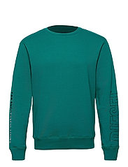 UMLT-WILLY SWEAT-SHIRT - HARBOR BLUE