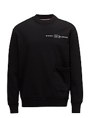 S-ELLIS-CL SWEAT-SHIRT - BLACK