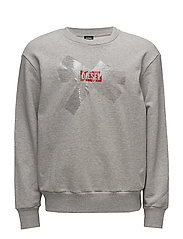 S-BAY-SA SWEAT-SHIRT - LIGHT GREY MELANGE