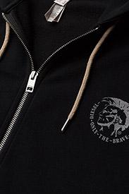Diesel Men - UMLT-BRANDON-Z  SWEAT-SHIRT - hoodies - black - 2