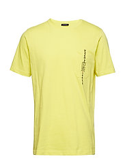 T-JUST-POCKET T-SHIRT - YELLOW