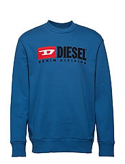 S-CREW-DIVISION SWEAT-SHIRT - BLUE