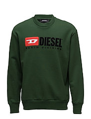 S-CREW-DIVISION SWEAT-SHIRT - DARK GREEN