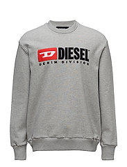 S-CREW-DIVISION SWEAT-SHIRT - LIGHT GREY MELANGE