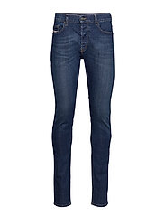 D-LUSTER L.34 TROUSERS - DENIM