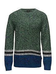 K-LINKS PULLOVER - TEAL GREEN