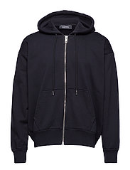S-ALBY-ZIP-YB SWEAT-SHIRT - BLACK