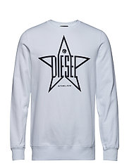 S-GIR-YA SWEAT-SHIRT - BRIGHT WHITE