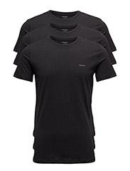 UMTEE-JAKETHREEPACK T-shirt 3 pack - BLACK