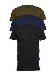 UMTEE-JAKETHREEPACK T-shirt 3 pack - AH900+AH89D+AH51F