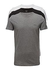UMTEE-JAKETHREEPACK T-shirt 3 pack - BLACK/WHITE