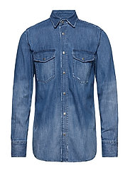 D-ROOKE-Y SHIRT - DENIM