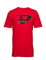 T-JUST-Y4 T-SHIRT - RACING RED