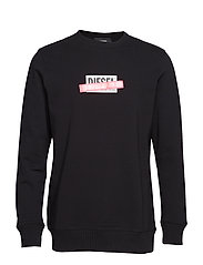 S-GIR-DIE SWEAT-SHIRT - BLACK