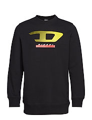 S-GIR-Y4 SWEAT-SHIRT - BLACK