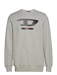 S-GIR-Y4 SWEAT-SHIRT - LIGHT GREY MELANGE