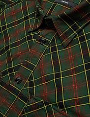Diesel Men - S-TOLSTOJ SHIRT - checkered shirts - dark green - 3