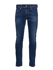 THOMMER TROUSERS - MEDIUM BLUE WASH