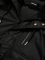 Diesel Men - W-BURKISK JACKET - bomber jackets - black - 3