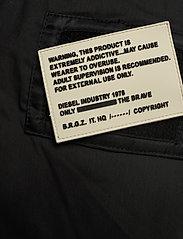 Diesel Men - W-BURKISK JACKET - bomber jackets - black - 6
