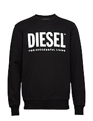 S-GIR-DIVISION-LOGO SWEAT-SHIRT - BLACK