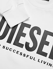 Diesel Men - S-GIR-DIVISION-LOGO SWEAT-SHIRT - tops - bright white - 2