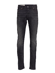 TEPPHAR-X L.34 TROUSERS - BLACK DENIM