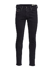SLEENKER-X TROUSERS - BLACK/DENIM
